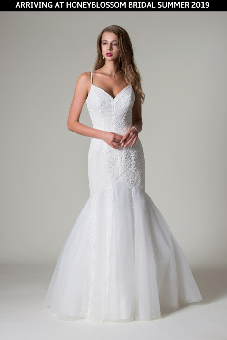 MiaMia Santana wedding dress coming soon to Honeyblossom Bridal