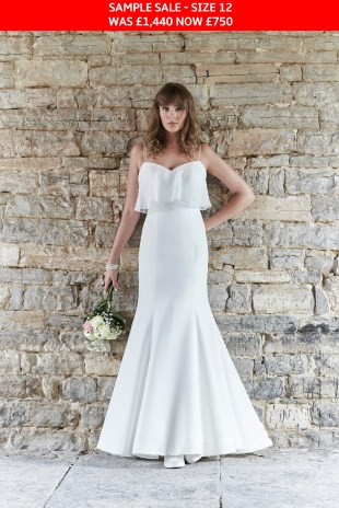 Gigi bridal dress sample sale