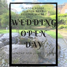 Honeyblossom Bridal at Flixton House wedding open day