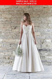 So Sassi Alanis wedding dress sample sale