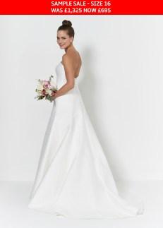 So Sassi Ebony bridal dress sample sale