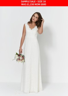 So Sassi Bianca wedding gown sample sale