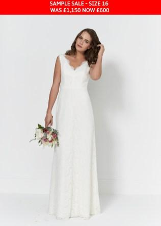 So Sassi Bianca wedding gown sample sale