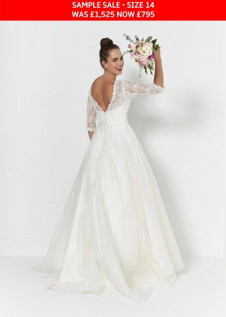 So Sassi Connie wedding dress sample sale