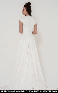 Freda Bennet Stella wedding gown arriving soon to Honeyblossom Bridal