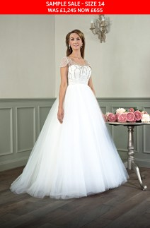 Catherine Parry 1624 wedding gown sample sale
