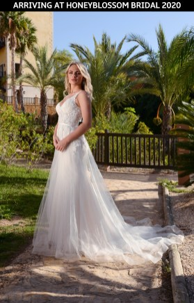 Catherine Parry Zara wedding gown arriving soon to Honeyblossom Bridal