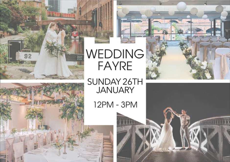 Honeyblossom Bridal will be at Castlefield Rooms wedding fayre 2020