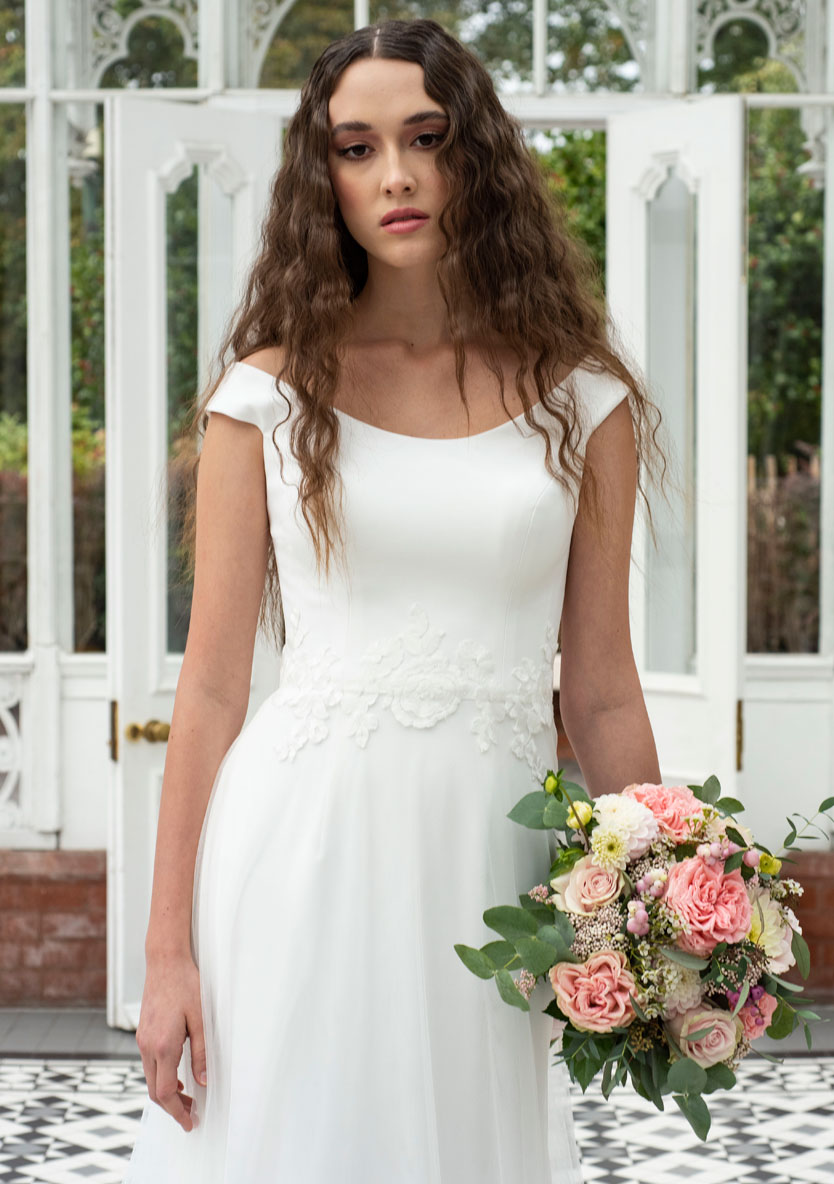 Freda Bennet Luna wedding dress