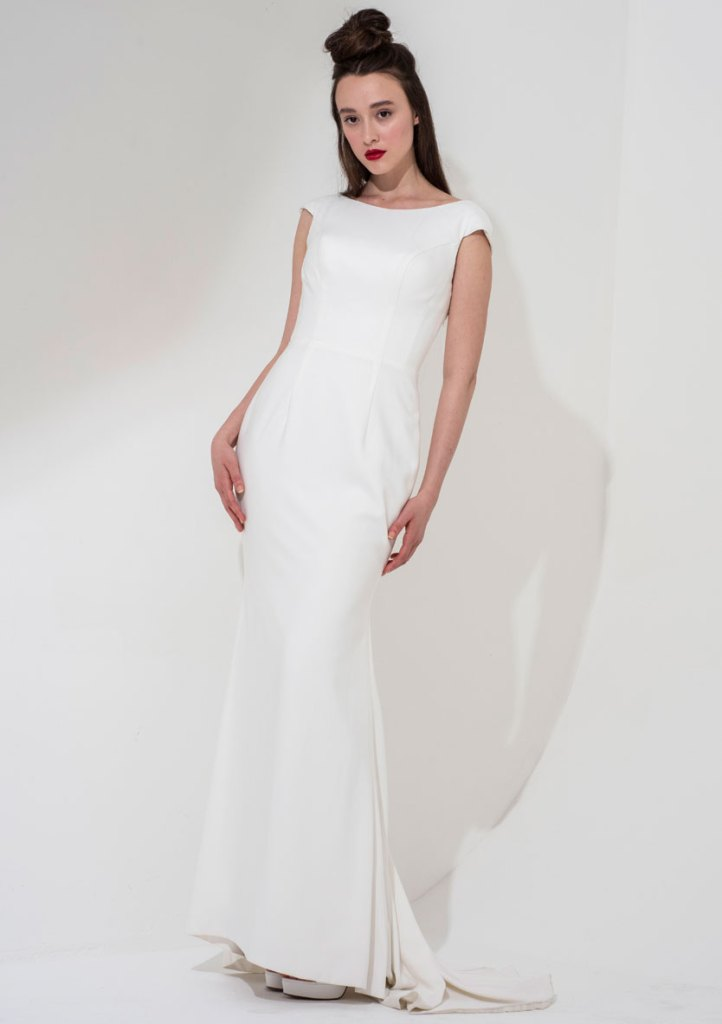 Freda Bennet Cleo wedding gown