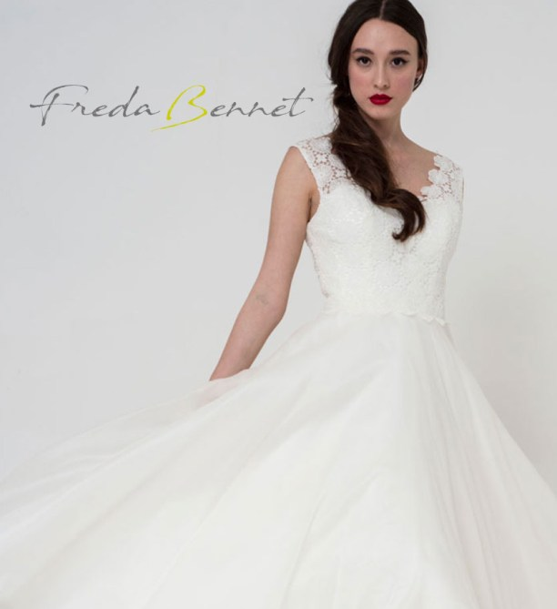 Freda Bennet Freya wedding gown