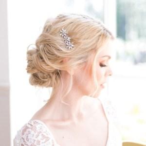 Handmade wedding haircomb - Aria