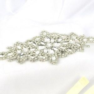 Crystal wedding belt - Sophia