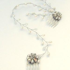Wedding headpiece - Camellia