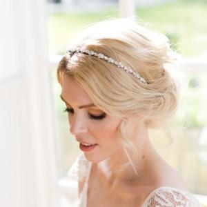 Wedding headpiece bridal headband - Callia