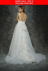GAIA 1604 wedding dress sample sale