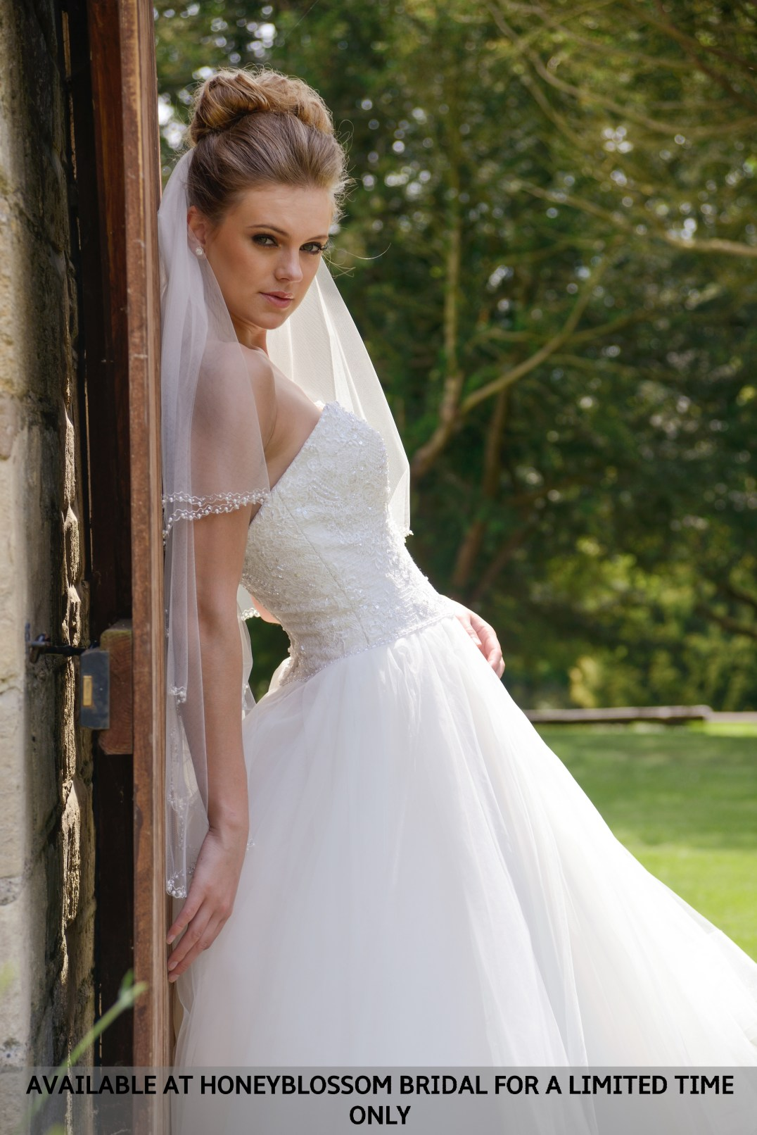 GAIA Nicole wedding dress - Aavailable at Honeyblossom Bridal boutique for a limited time only