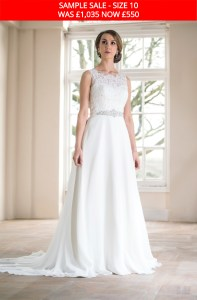 GAIA 1508 wedding gown sample sale