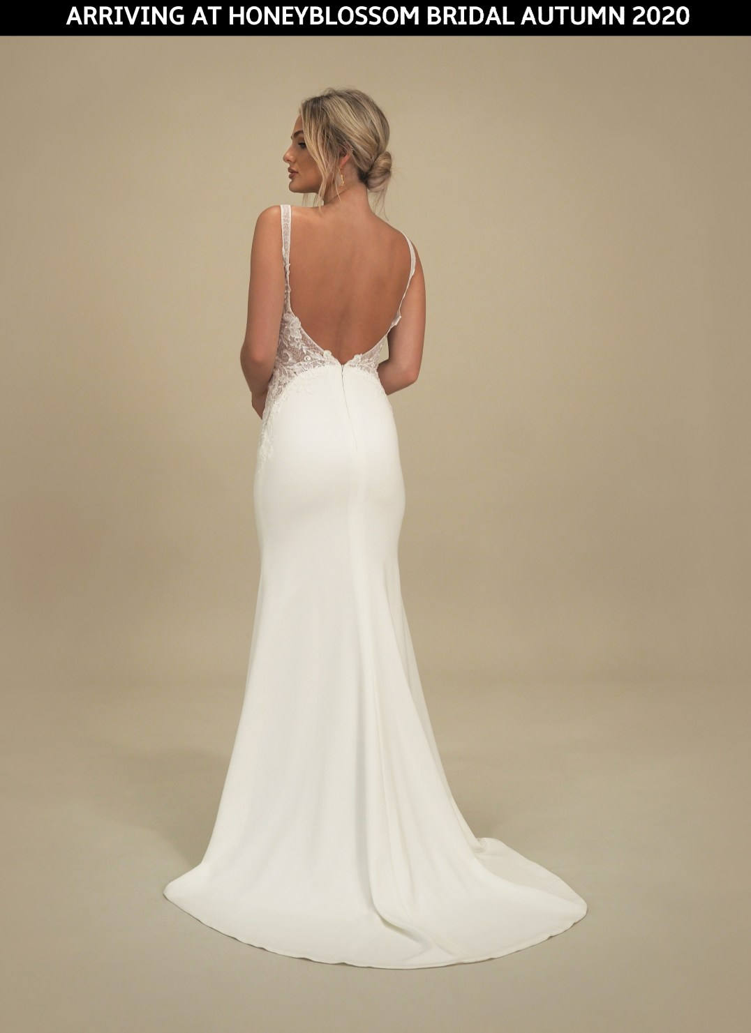 GAIA Portofino bridal gown arriving soon to Honeyblossom Bridal boutique