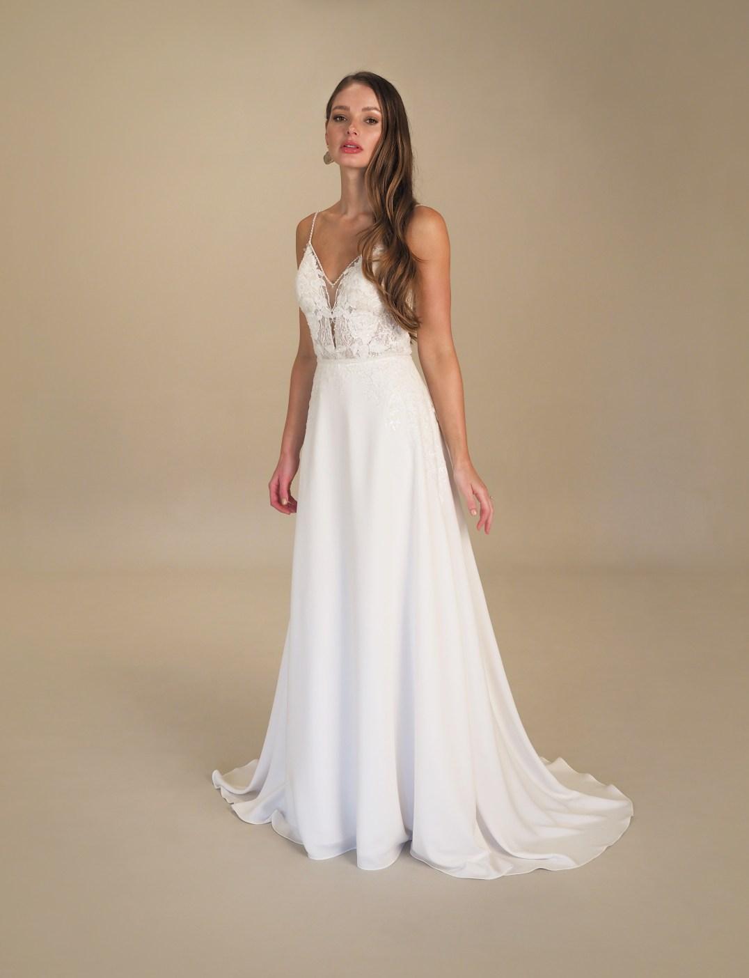 GAIA Capri wedding gown