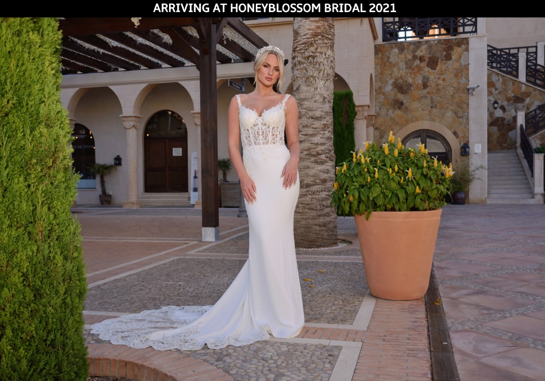 GAIA Devon bridal gown arriving soon to Honeyblossom Bridal boutique