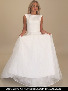 GAIA Maxime wedding gown arriving soon to Honeyblossom Bridal boutique