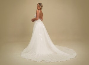 GAIA Portofino wedding dress with overskirt
