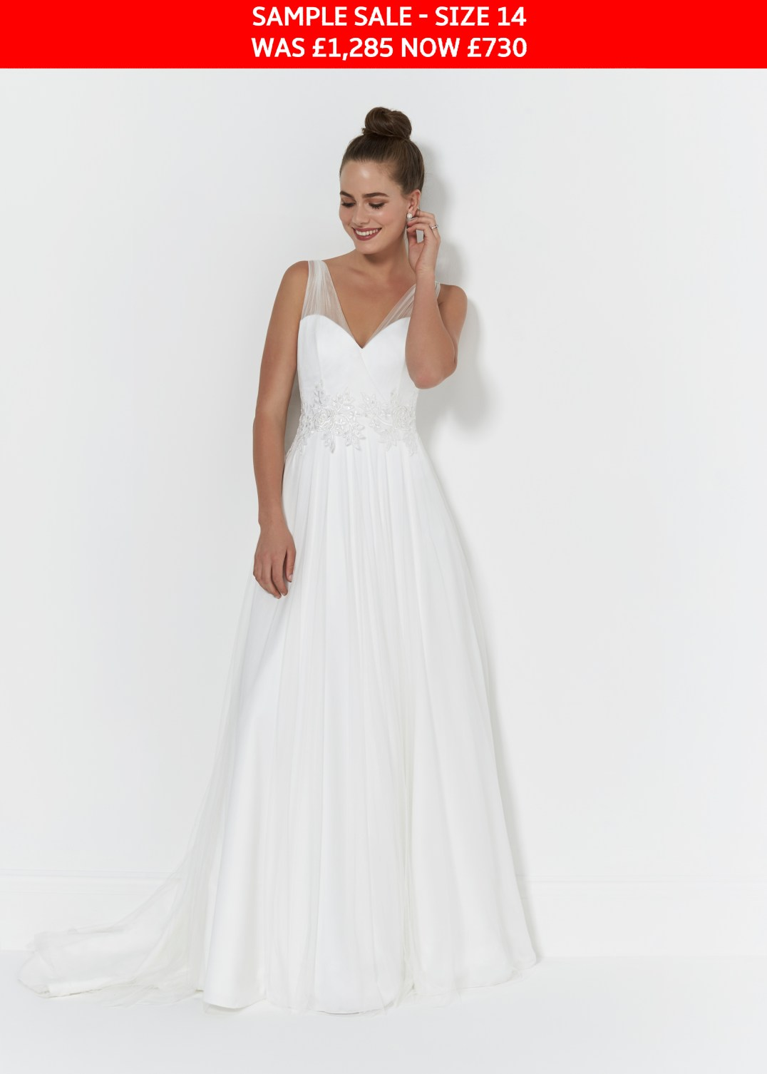So Sassi Libby wedding dress sample sale