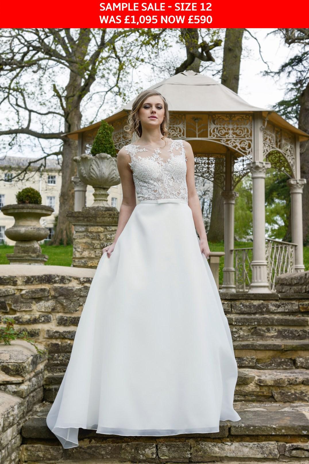 GAIA Cara wedding gown sample sale