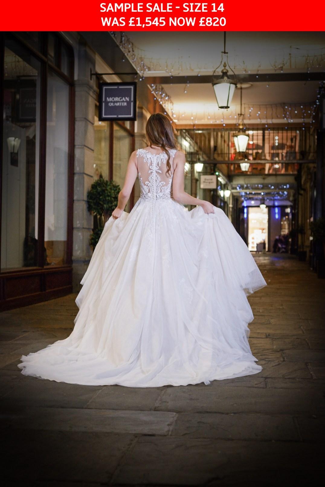 GAIA Isabella bridal gown sample sale