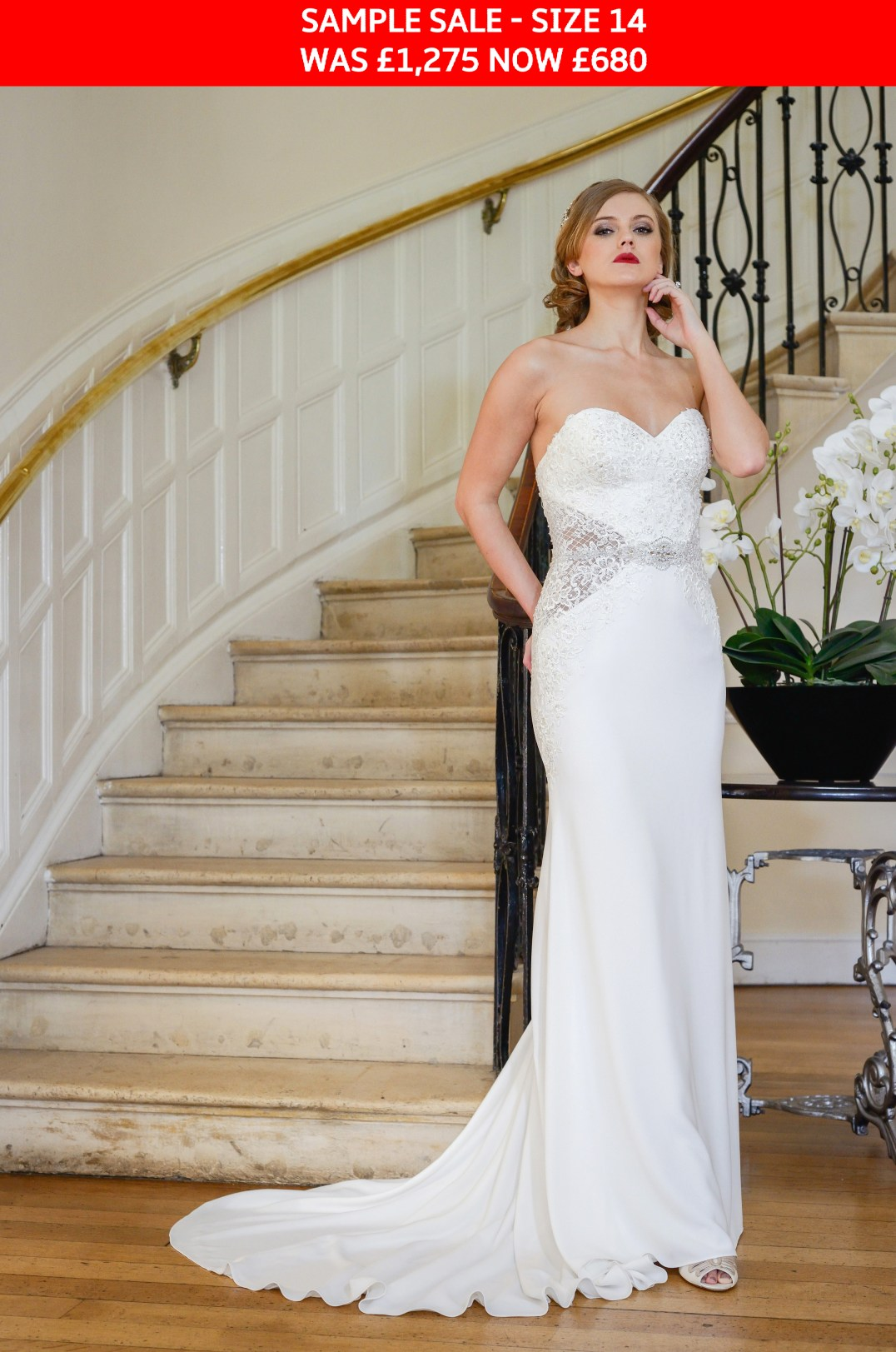 GAIA Nia bridal dress sample sale