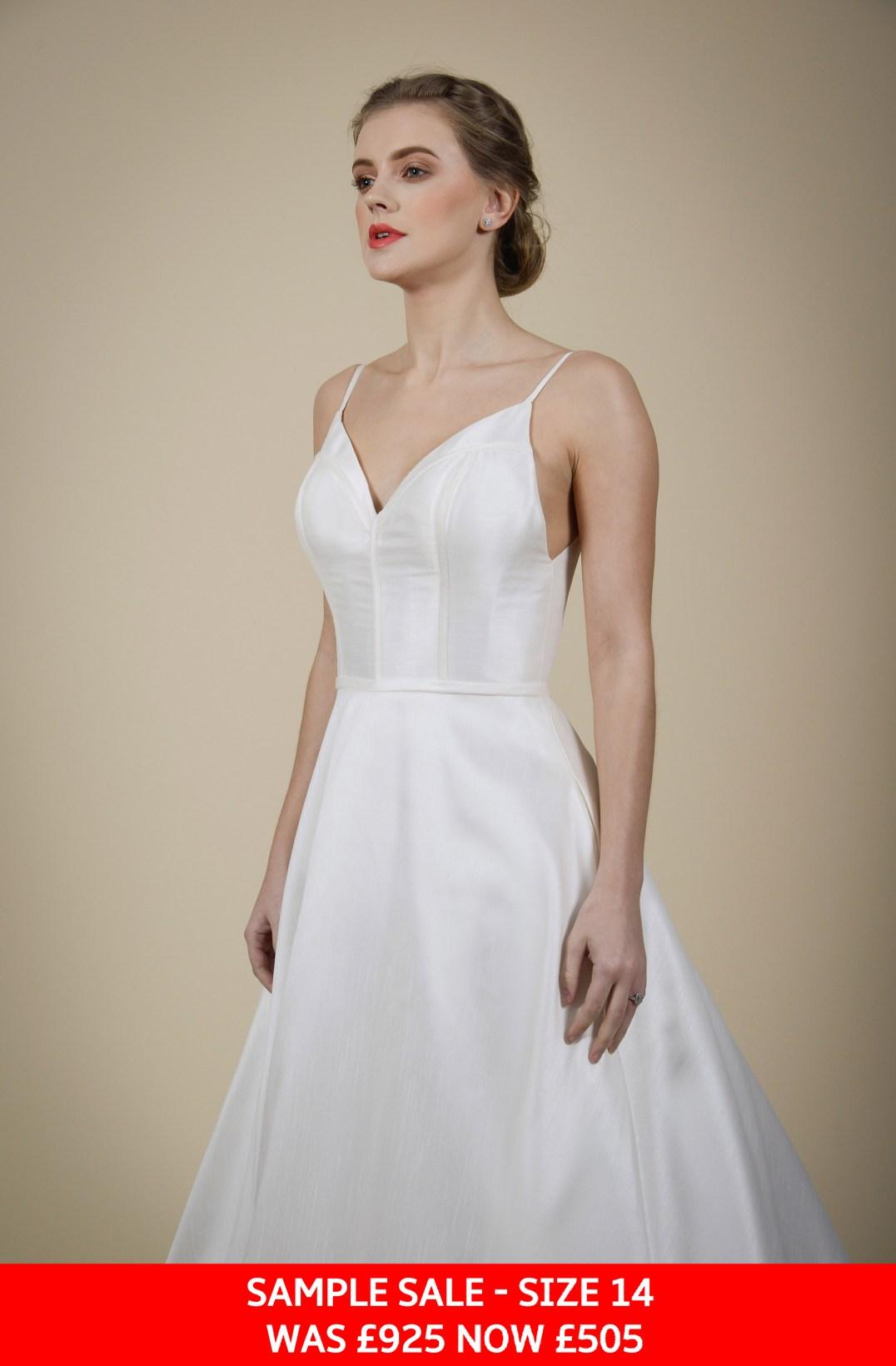 GAIA Tania wedding dress sample sale