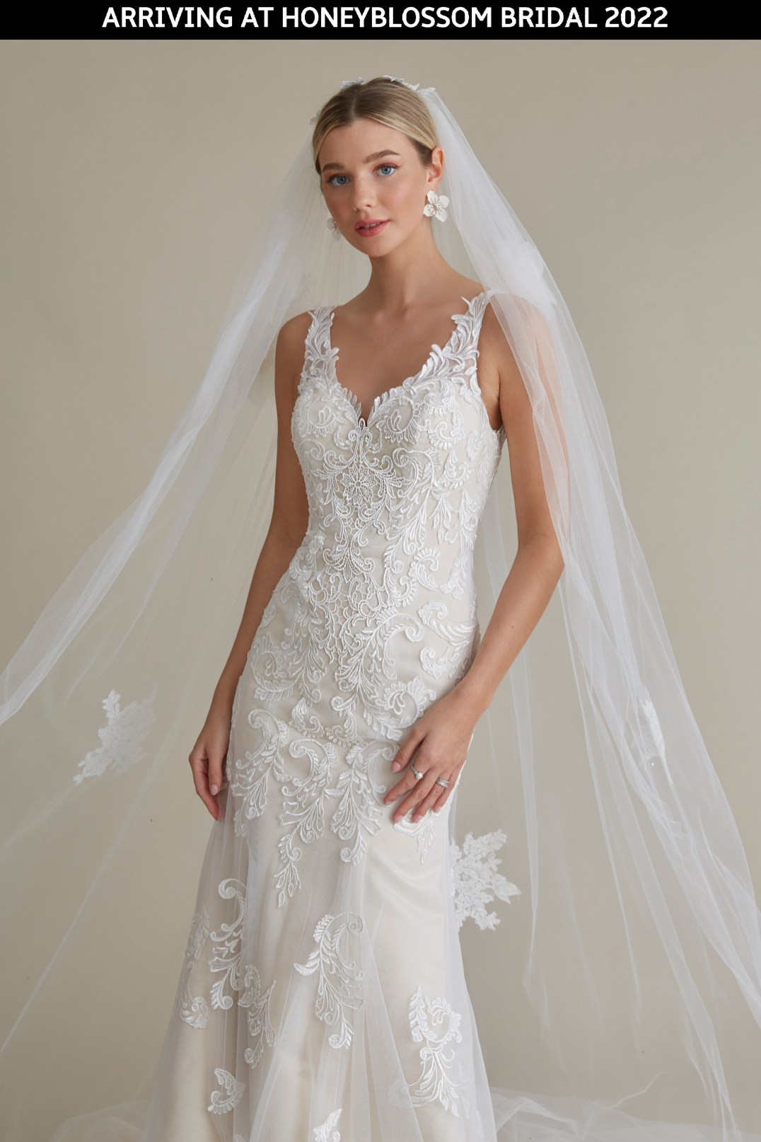 MiaMia Anya wedding gown arriving soon to Honeyblossom Bridal