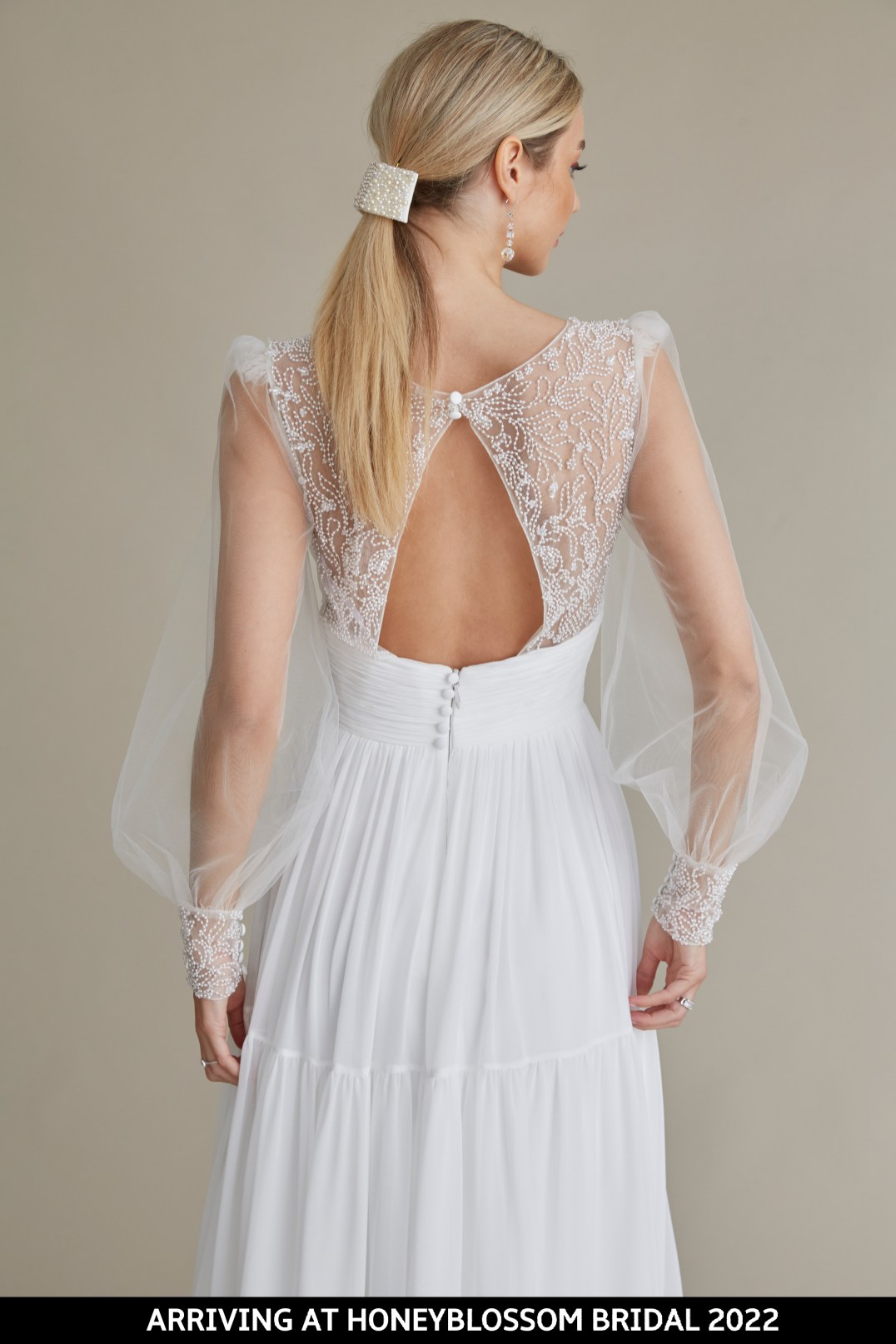 MiaMia Billie bridal gown arriving soon to Honeyblossom Bridal