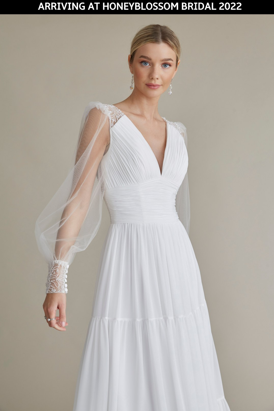 MiaMia Billie wedding gown arriving soon to Honeyblossom Bridal
