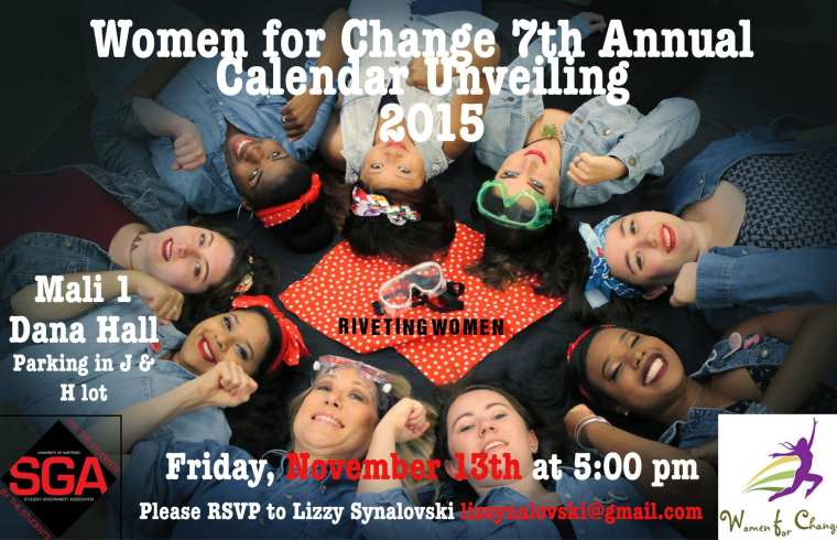 Women for Change 7th Annual Calendar Unveiling 2015