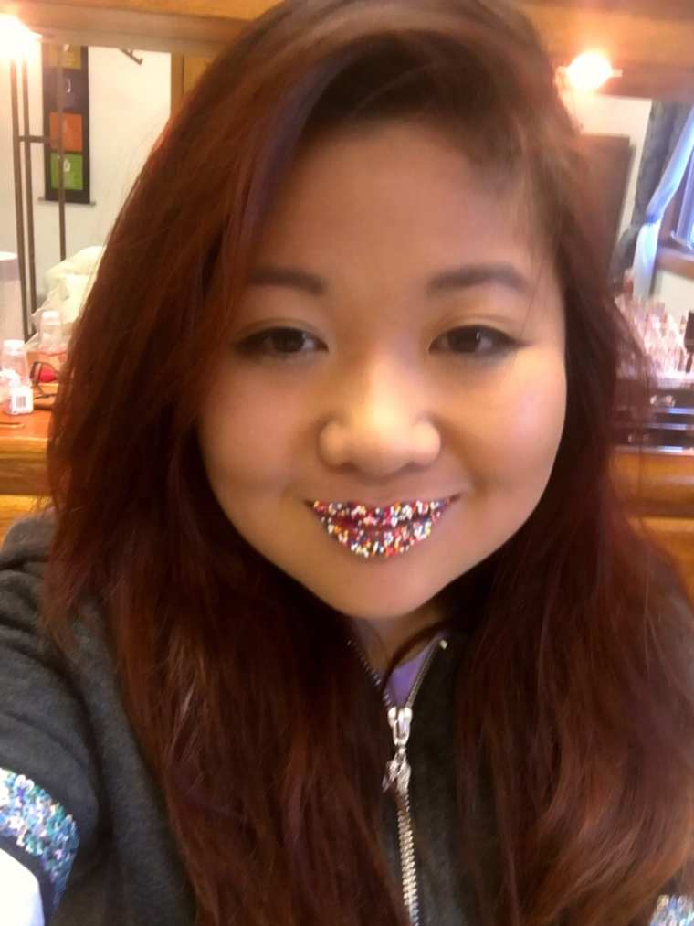sprinkle liips selfie thuy
