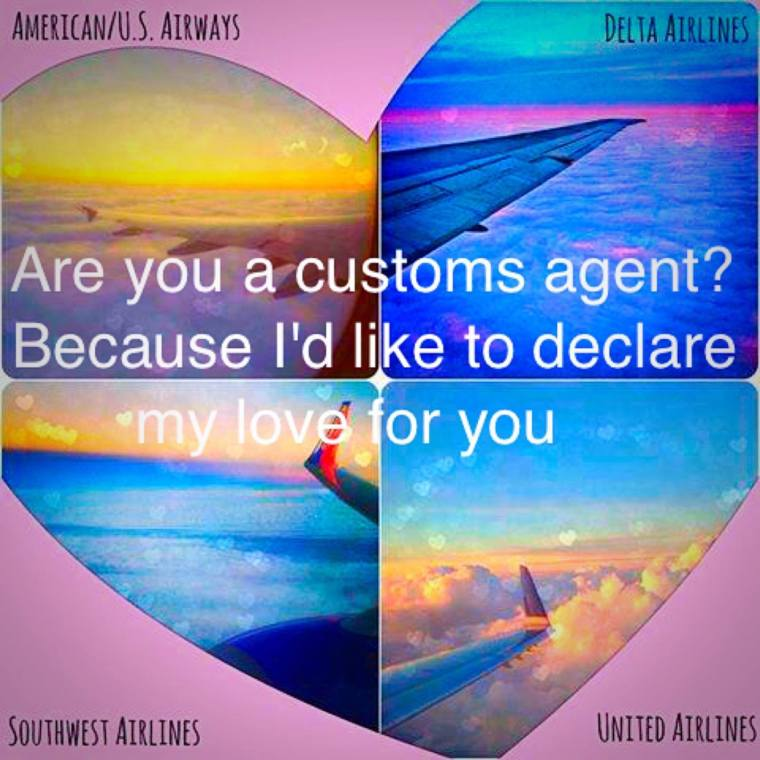 What are your favorite Travel Pick Up Lines?