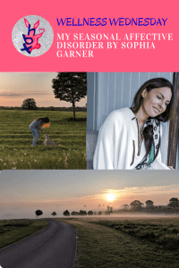 MY SEASONAL AFFECTIVE DISORDER BY SOPHIA GARNER