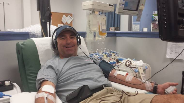 I donate platelets because - Harris Levine