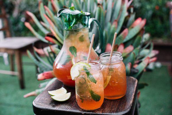 Honey Child's Creole — Iced Green Tea