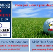 YACS 2017 golf tournament