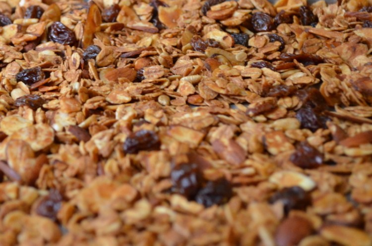 Browned Granola
