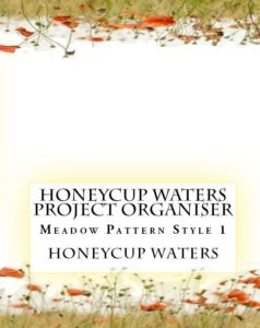 honeycup waters project organiser book cover style 1