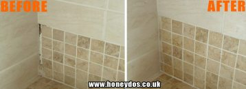 BATHROOM TILING REPAIR
