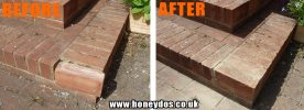 BRICK STEPS REPAIR