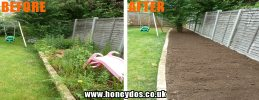 GARDEN CLEARANCE & TIDY UP