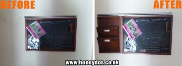 WALL STORAGE FITTED