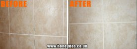 TILES REGROUTED