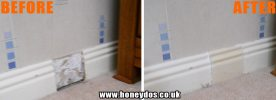 SKIRTING BOARD REPAIR